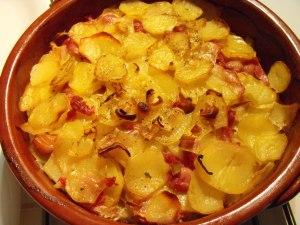 bacon hotpot
